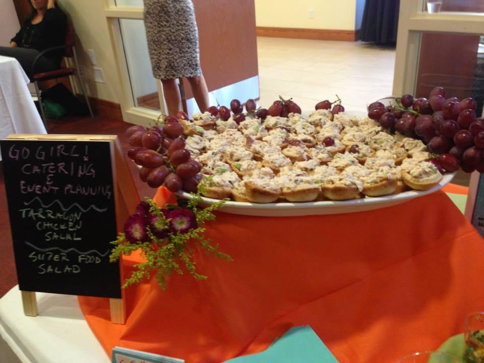 Tarragon Chicken Salad Pastries
